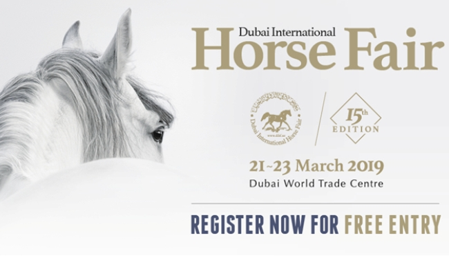 PROXIMAL exhibits at Dubai International Horse Fair 2019