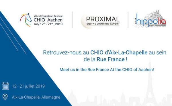 PROXIMAL expose au CHIO d'Aix-La-Chapelle 2019
