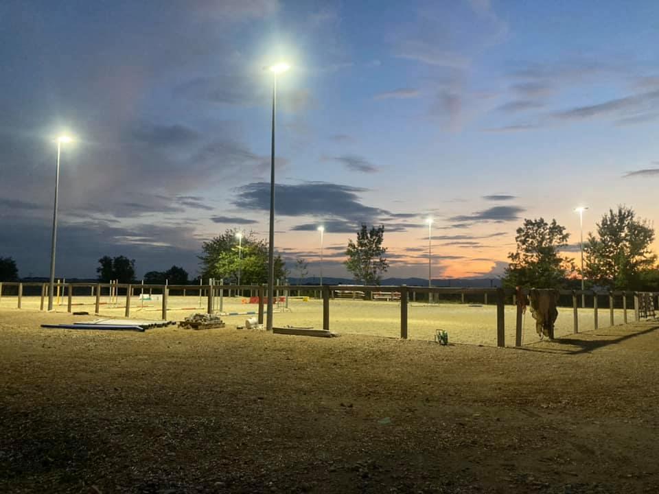 Ecurie active Equit'easy : éclairage LED équin par PROXIMAL