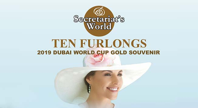 Interview de PROXIMAL dans la revue Ten Furlongs & The Dubai World Cup Gold Souvenir 2019